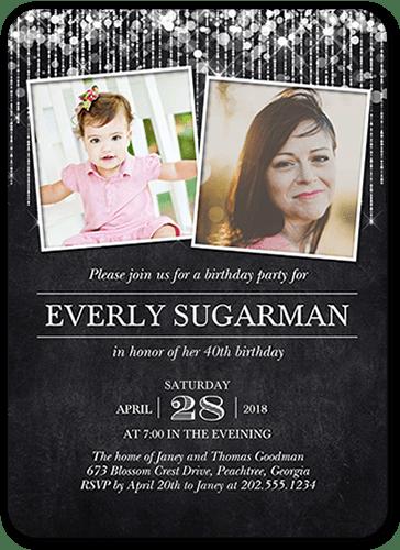 twin birthday invitations custom twin