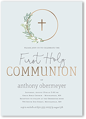 first holy communion invites