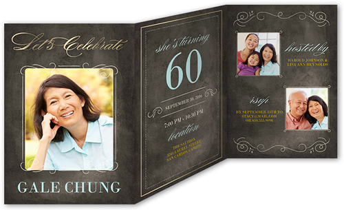 Incredible Years Surprise Birthday Invitation Shutterfly