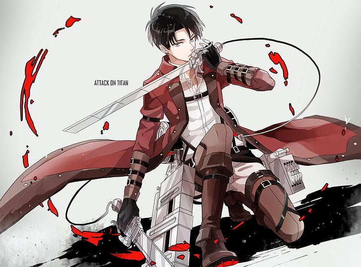 Hd Wallpaper Attack On Titan Levi Ackerman Wallpaper Anime Shingeki No Kyojin Wallpaper Flare