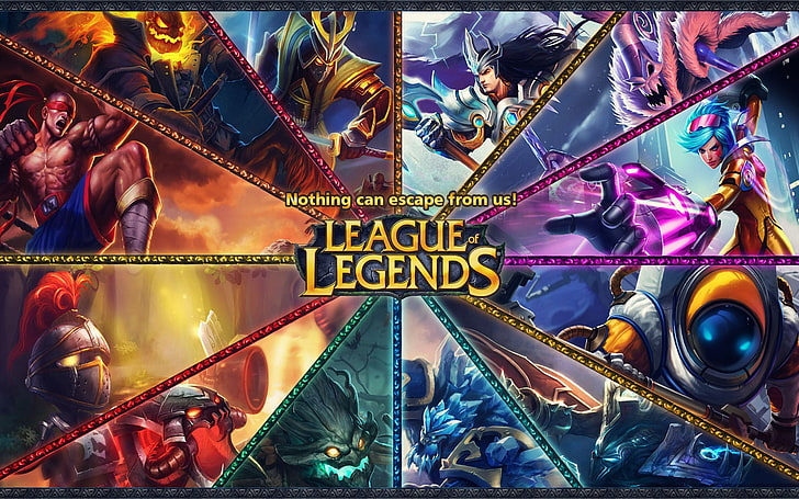league of legends poster video games