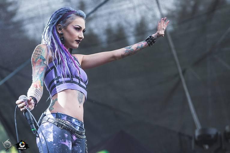 HD wallpaper: metal music, Lena Kataraga, Infected Rain, Lena Scissorhands  | Wallpaper Flare