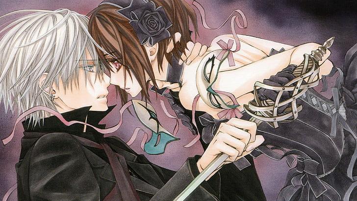 Hd Wallpaper Girl Anime Vampire Guy Magical Girl Vampire Knight Yuki Kuran Wallpaper Flare