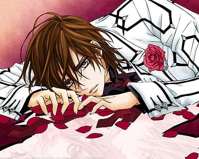 Hd Wallpaper Anime Boys Roses 1280x1024 Anime Vampire Knight Hd Art Wallpaper Flare