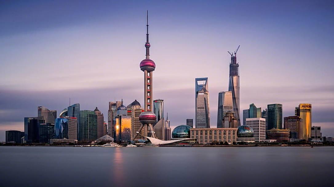 HD wallpaper: Shanghai Skyline Modern And Oriental Pearl Tv Tower Desktop  Wallpaper Hd 2880×1620 | Wallpaper Flare
