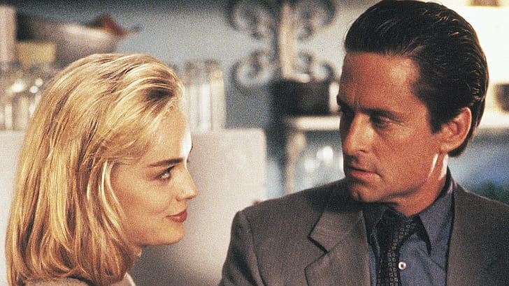 HD wallpaper: Movie, Basic Instinct, Michael Douglas, Sharon Stone | Wallpaper Flare