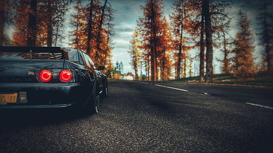 Browse all wallpapers tagget with this tag. Hd Wallpaper Forza Horizon 4 Car Vehicle Jdm Skyline R32 Nissan Skyline Wallpaper Flare