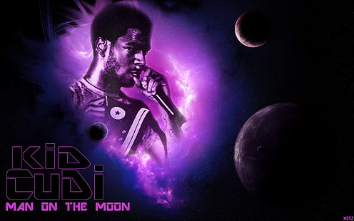 hd wallpaper man of the moon by kid