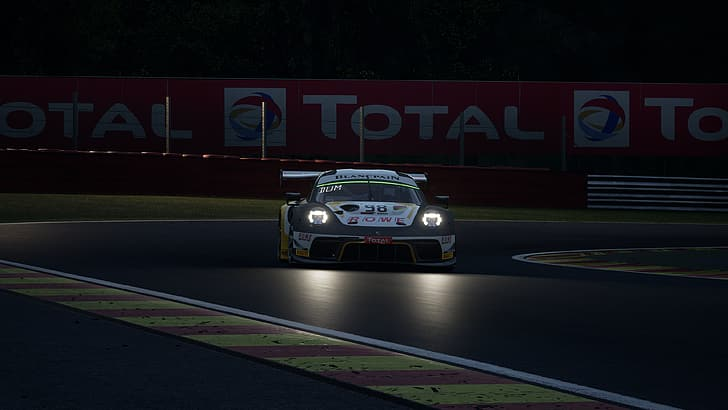 Stock car racing wallpaper is an exclusive app, which suits perfect for those who love car racing. Hd Wallpaper Video Games Car Porsche Assetto Corsa Competizione Spa Francorchamps Wallpaper Flare