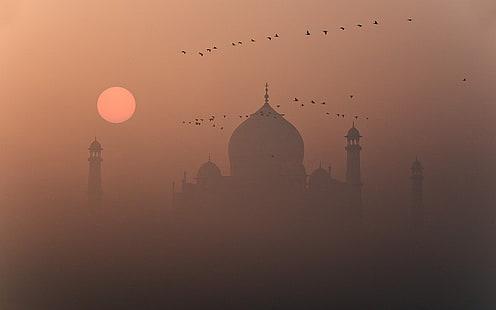 Hd Wallpaper Taj Mahal India Taj Mahal Travel And World Wallpaper Flare