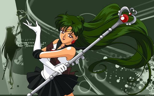 HD wallpaper: Anime Outer Senshi Sailor Pluto Anime Sailor Moon HD Art,  setsuna   Wallpaper Flare