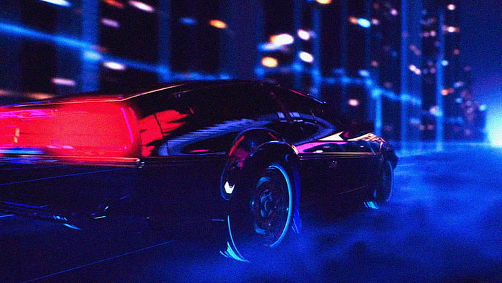 We researched the top models so you can pick your very own lenovo. Hd Wallpaper Black Car Wallpaper Retro Style Retrowave Building Noisy Wallpaper Flare