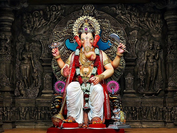 Hd Wallpaper God Ganesh Chaturthi Hd Photos Ganesha Lord Wallpaper Flare
