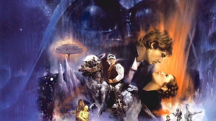 star wars movies poster luke skywalker