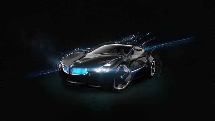Widescreen, ultra wide & multi display desktops : 5760x1080px Free Download Hd Wallpaper Car Bmw Supercar Black Car Concept Car Sports Car Mode Of Transportation Wallpaper Flare
