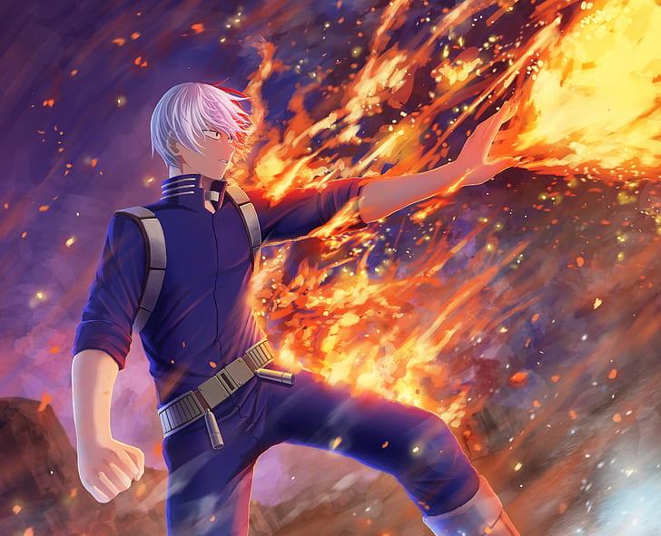 See more ideas about hero wallpaper, anime wallpaper, academia wallpaper. HD wallpaper: Anime, My Hero Academia, Shoto Todoroki ...