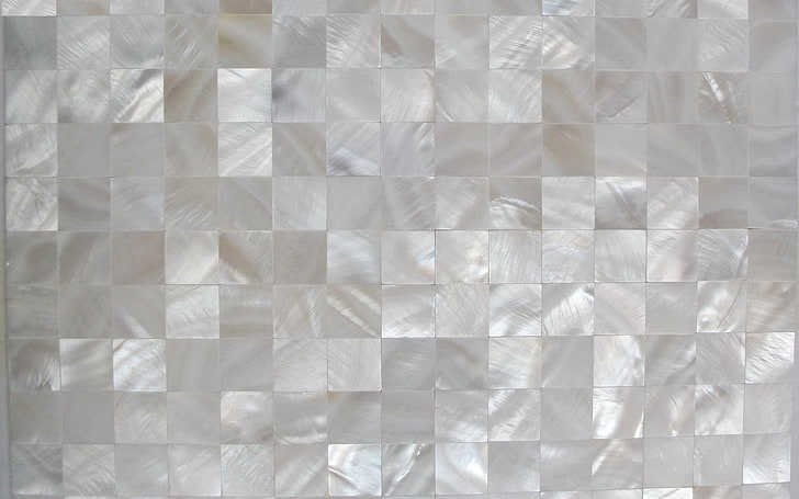 pearl mosaic tile wallpaper
