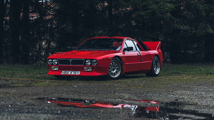 Hd wallpapers and background images Hd Wallpaper Lancia 037 Rally Cars Red Cars Group B Stradale Italian Cars Wallpaper Flare