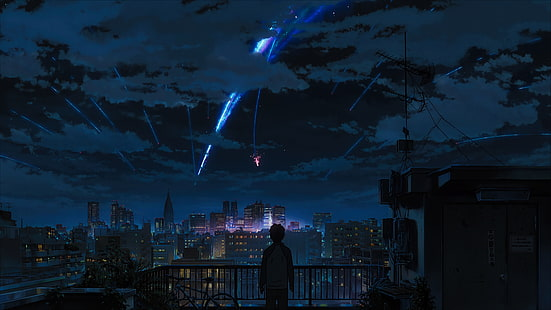 Hd Wallpaper Anime Your Name Wallpaper Flare