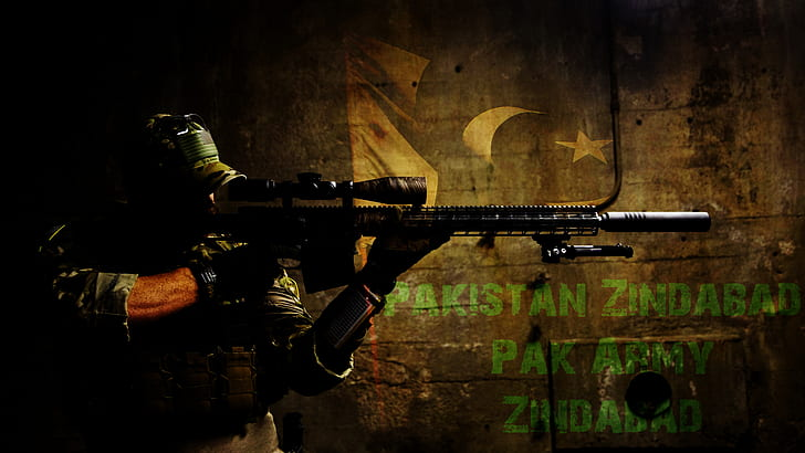 Hd Wallpaper Military Soldier Pakistan Army Wallpaper Flare