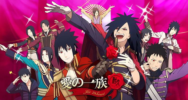 uchiha clan poster anime naruto