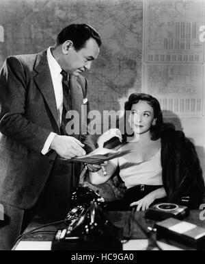 Escuadrón de vicios, Edward G. Robinson, Paulette Goddard, 1953 - Foto de Stock