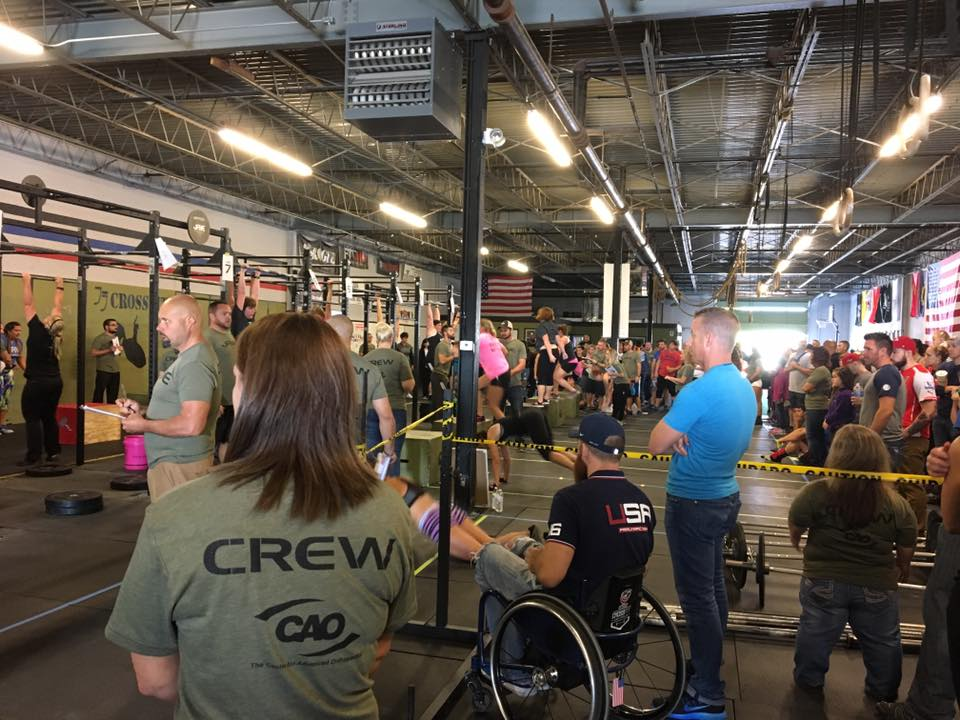 Festivus Crossfit Competition in Collinsville, IL