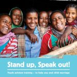 'Stand Up, Speak Out' Youth Activism Training Resources (Girls Not Brides, 2018)