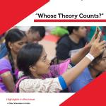 "Wumen Bagung - Communication for Development and Social Change Bulletin: ""Whose Theory Counts?"" (RMIT, 2018)"