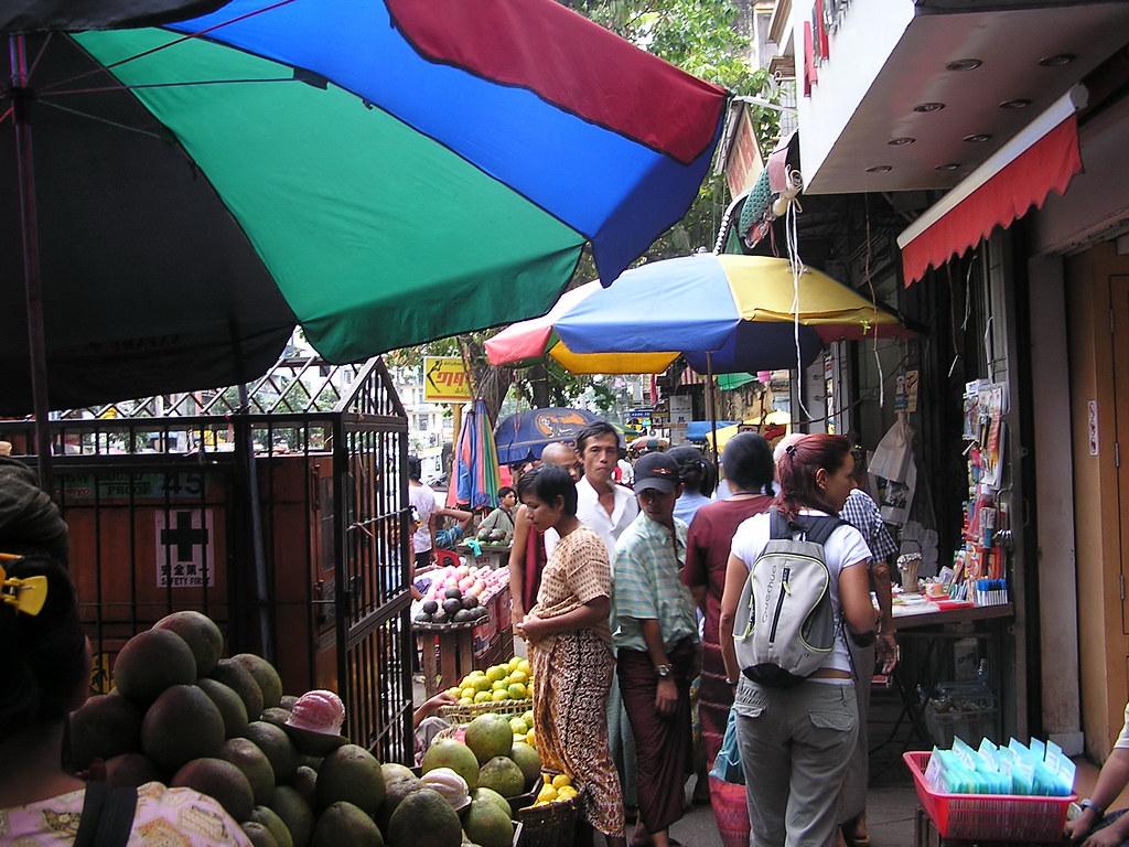 Ragun Mercado Bogyoke Aung Sand Myanmar Birmania 22