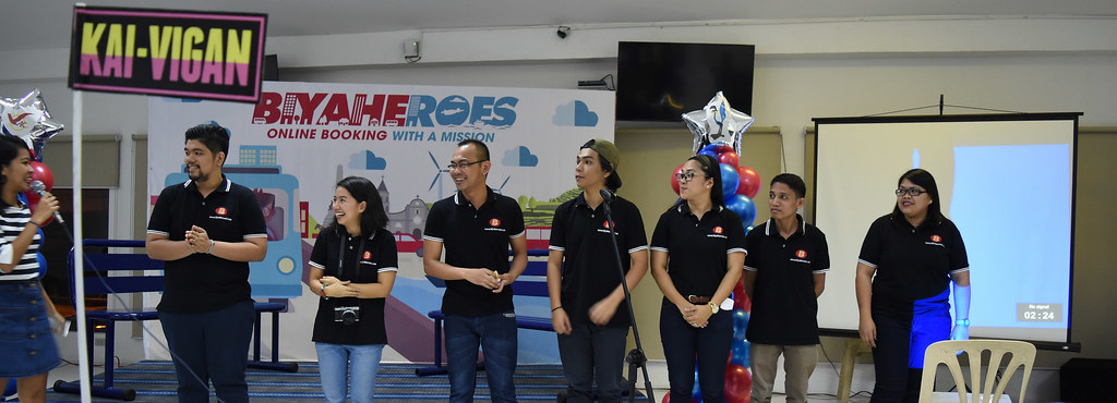 Biyaheroes Team Picture