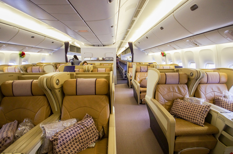 Flight Review Singapore Airlines Business Class On The