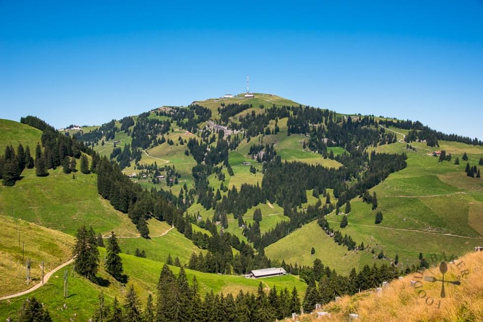 Looking at Mount Rigi
