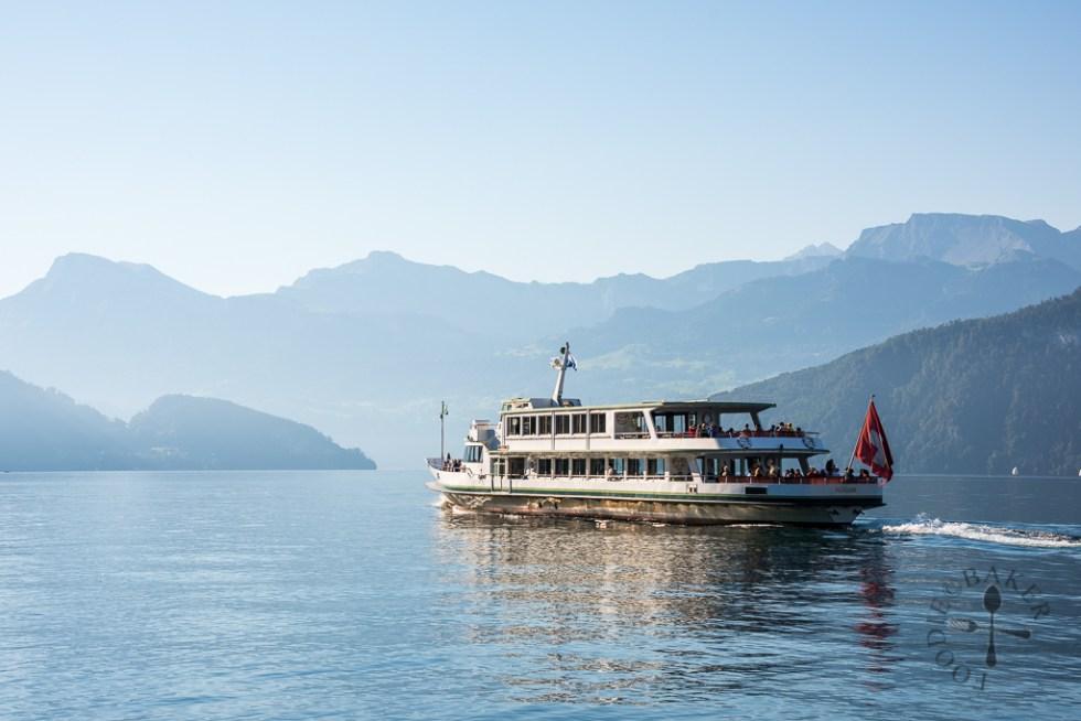 Ferry to Mt Rigi