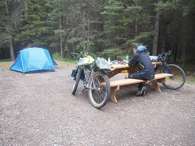 Lower Lake campground, Boulton Creek