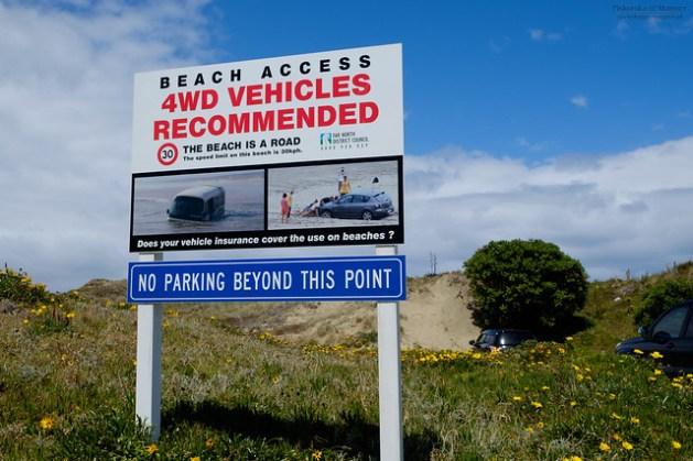 Nowa Zelandia - 90 mile beach