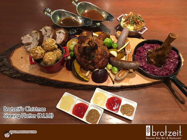 Brotzeit 2016 Christmas Sharing Platter