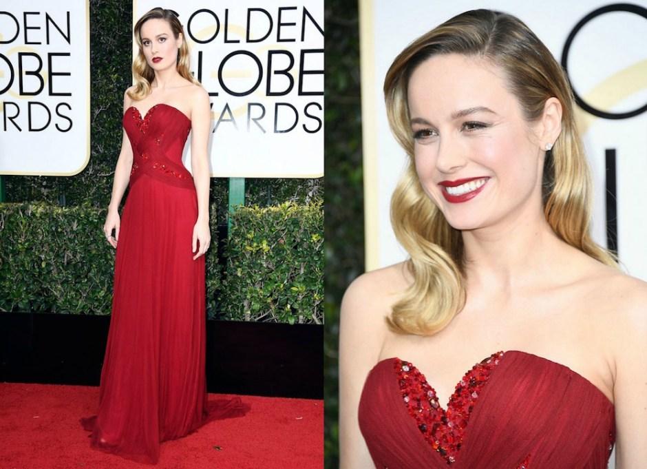 Brie Larson Golden Globes 2017