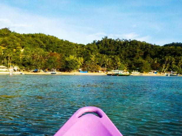 Ruta en kayak por El Nido