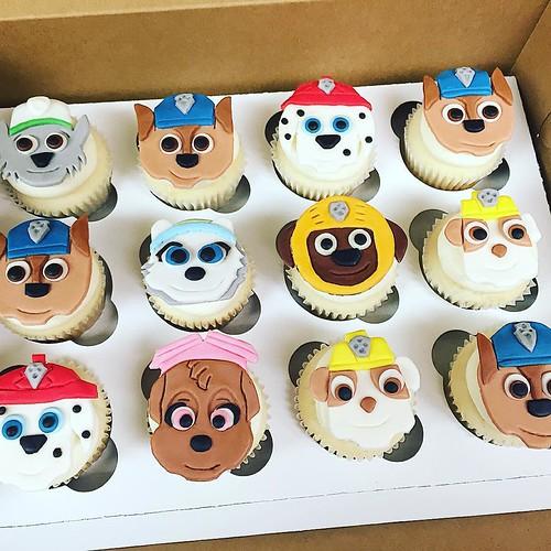 Paw Patrol Pull Apart Cupcakes
