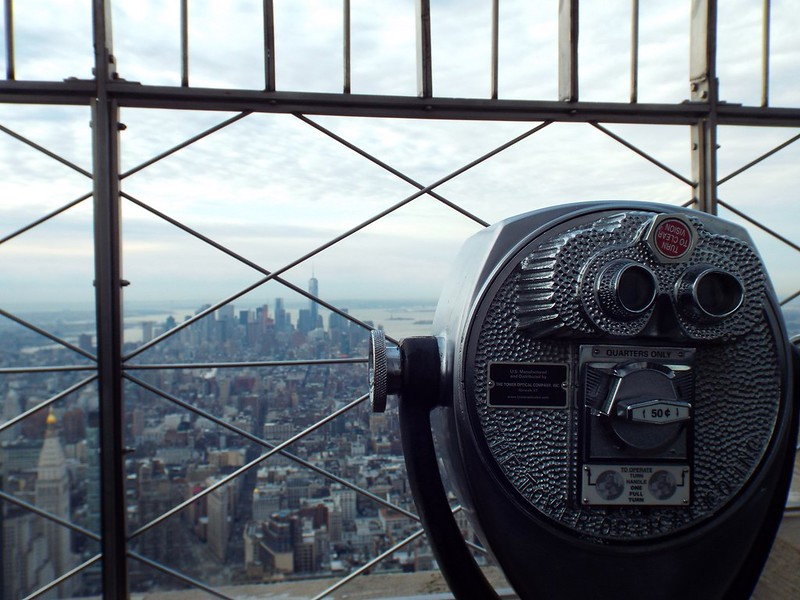 view from the Empire State Building, New York - the tea break project solo female travel blog
