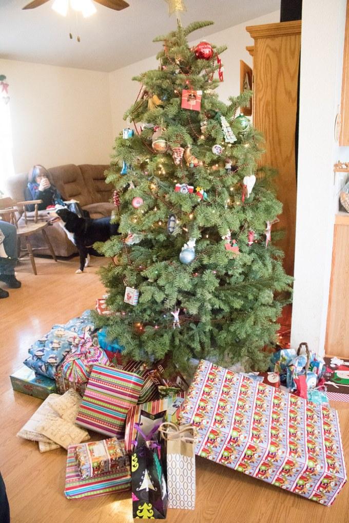 Christmas Morning at the Mora's