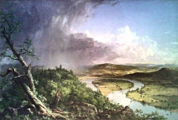 View from Mt. Holyoke - Thomas Cole