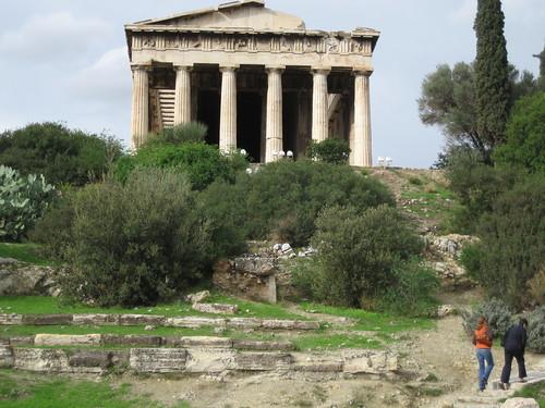Templo de Hefesto en el Ágora Antigua. ViajerosAlBlog.com.