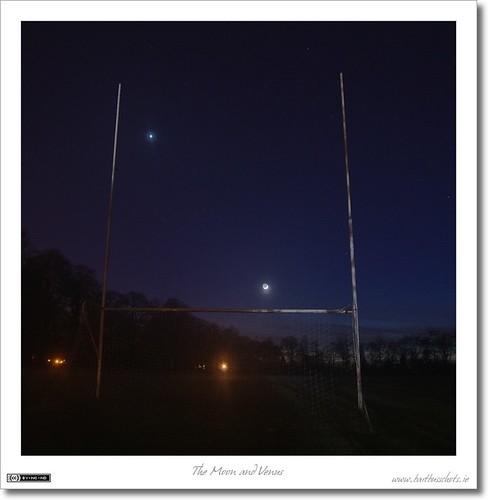 The Moon & Venus Score!