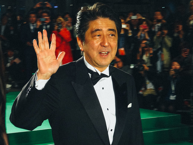 26th Tokyo International Film Festival: Prime Minister Abe Shinzo