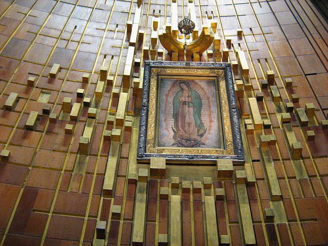Imagen original Virgen de Guadalupe