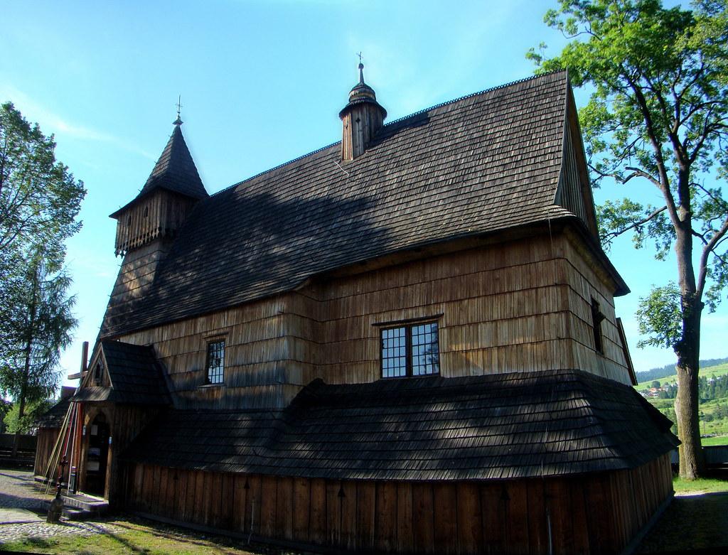 Debno Iglesia de madera Iglesia de San Miguel Arcangel Polonia 05