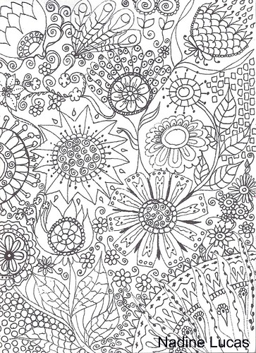coloring page  inspiredsheila arthurs www.flickr