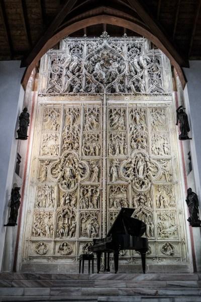 Porta originale del Duomo di Milano, Casa Museo Pogliaghi